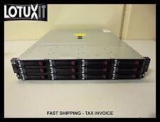 HP D2600 24TB 3.5 12 Bay Enclosure JBOD 12x 2TB 6G 7.2K SAS MDL HDD M6612 AJ940A