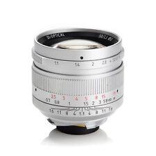 BW 7Artisans 50mm f1.1 Manual Lens Silvery for Leica M Mount M-M M3 M6 M7 M8 M9p