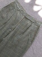 Women's Country Road 80s 90s High Waist Straight Leg Houndstooth Pant M
