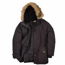 Carhartt Herren Parka Jacke Mantel Winterjacke Gr.M Anchorage Schwarz 88625