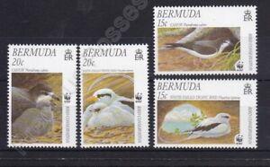 BERMUDA MNH STAMP SET 1997 BIRD CONSERVATION WWF SG 774-777