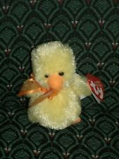 "Ty Basket Beanies ~ 3""(yellow) Duck/chick ~ BILLINGSLY ~ 2005 ~ MWMT ~ RETIRED"