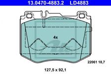 TEXTAR Bremsbelagsatz Mercedes DB W211 W212 W220 W221 R171 R230 hinten