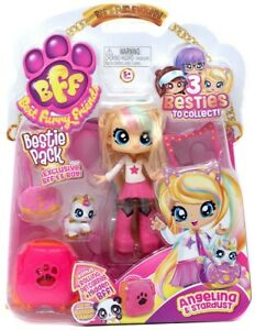 BFF Best Furry Friends Bestie Pack Angelina & Stardust New In Box
