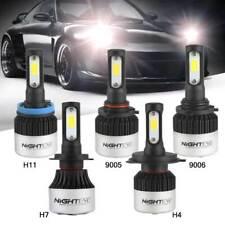 Nighteye H7 COB LED Headlight Single Beam Bulbs 6500K Xenon White Lamp 9000LM