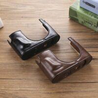 Leather Case Cover For Leica Camera Half Case Typ116 Q/QP Q2 Q-P Handmade Bag