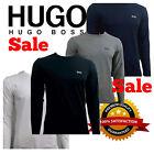 HUGO BOSS POLO LONG SLEEVE CREW NECK  T-SHIRT