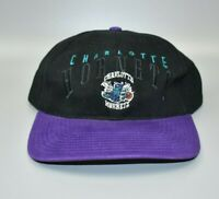 Charlotte Hornets NBA Twins Enterprise Vintage 90's Strapback Cap Hat - NWT