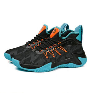 Mens Trainers Absorbing Running Basketball Sports Shoes Sneakers UK Size