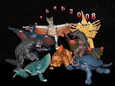 BANDAI Gamera 40th Anniversary gashapon figure - GUIRON Jaiger GYAOS  ( 8 Pcs )