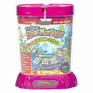 Amazing Live The Original Sea Monkeys Ocean Zoo Marine Aquarium Assorted 23223