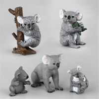 Koala Bear Simulation Animal Model Action Toy Figures Educational Kids G Eh