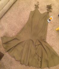 Satsuma London Olive Green Dress Size 12