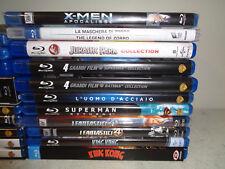 LOTTO 22 BLU RAY DISC-SUPEREROI BATMAN SUPERMAN uomo rango  AVENGERS-A12