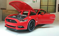 Ford Mustang 2015 2.3 3.7 5.0 V8 GT 1:24 Scale Diecast Super Model Car 31508