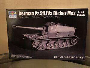 NEW Trumpeter 1/72 07108 German Pz.Sfl.IVa Dicker Max