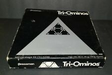 VINTAGE 1968 Tri-Ominos The Triangle Board Game 4420 Pressman Complete EXCELLENT
