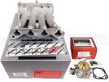 Skunk2 Pro Intake Manifold + 70mm Throttle Body for Ef Eg Ek D15 D16 Sohc