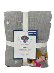 New Pottery Barn Kids Paw Patrol Toddler Quilt