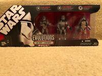 Star Wars Evolutions 3 Pack: Clone Trooper to Stormtrooper