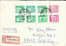 Germany DDR 1980  cover posted Bad Langensalza to Weite Gasse VF