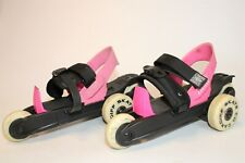 Cardiff Youth Girls One-Size Adjustable Three-Wheel Cruiser over Shoe Skates