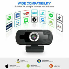 1080P Full HD USB Webcam Web Camera with Microphone for PC Desktop & Laptop BEST