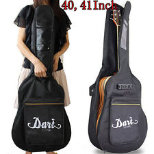 "41"" Padded Protective Acoustic Guitar Bag Gigbag Carry Case With Shoulder Straps"