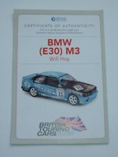Atlas / Editions BMW (E30) M3 Will Hoy - Certificate of Authenticity, Mint