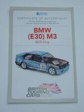 ATLAS/EDITIONS BMW (E30) M3 sera Hoy-certificat d'authenticité, Comme neuf