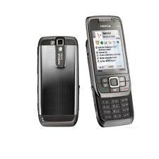 Nokia E66 3G originale WIFI 3.15MP Fotocamera MP3 Cellulari sbloccati Nero