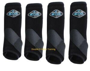 Professionals Choice Brrr 2XCOOL Value 4 Pack BLACK Small Prof Pro SMB Boots