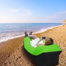 Luftcouch Sitzsack Lounge Aufblasbar Urlaubsreise Luft Sofa Bett Liegesack NEU
