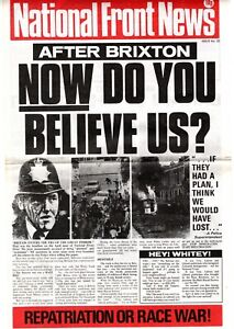 NATIONAL FRONT NEWS 32 May 1981 NF BNP