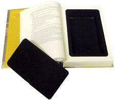 Hollow Book Safe Box Diversion Hidden Secret Storage Jewelry Money Security NEW!