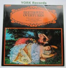 CCV 5009 - BEETHOVEN - Overtures MUNCH Boston Symphony Orchestra - Ex LP Record