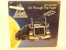 DEF LEPPARD - On Through The Night LP - MERCURY SRM 1-3828 - Sealed / NEW - 1980