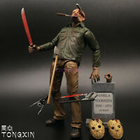 """Friday the 13th Part IV 3D JASON VOORHEES 1/12 Scale Ultimate Action Figure 7"""""""