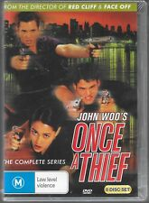 ONCE A THIEF (JOHN WOO'S) Compleet Series 8 Disk  see picture