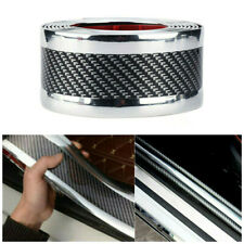 Parts Accessories Car 5D Carbon Fiber Sticker Molding Door Sill Rubber Protector