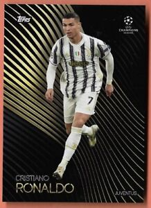 TOPPS Knockout Champions League 2021 CRISTIANO RONALDO JUVENTUS CARD BASE