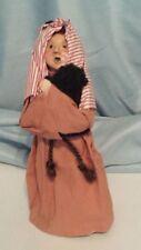 Byers Choice Original Nativity Shepherd w/Black Sheep Rare Htf 1988 Excell Cond.