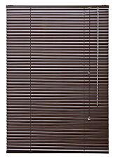 Alu Jalousie  Fenster Rollo Jalousette Türrollo Lamellen Braun Mocca 70 x 220