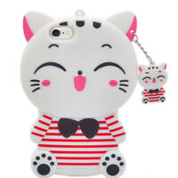 HOT 3D Cute Animals Cartoon Soft Silicone Phone Case Cover For Huawei P8 P9 Lite