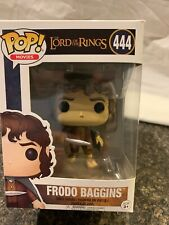 Funko Pop Movies: The Lord of the Rings - Frodo Baggins Vinyl Figure Item #444