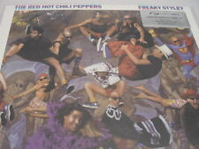 RED HOT CHILI PEPPERS FREAKY STYLEY 180 Gram SILVER UK RARE DELUXE PACKAGED LP