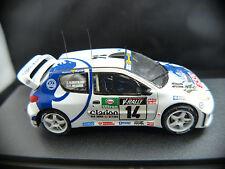 Peugeot 206 WRC TOUR DE CORSE 1999 #14 Delecourt Kit monté résine 1/43