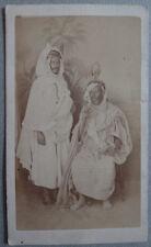 Photo Carte de Visite Cdv Par Portier à Alger Vers 1860/70