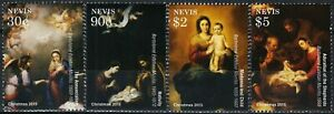 Nevis 2015 paintings art Murillo set MNH