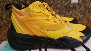 NEW (2021) J Cole x Puma Men's RS Dreamer 2 Mid Shoes - Yellow / Black - Size 9